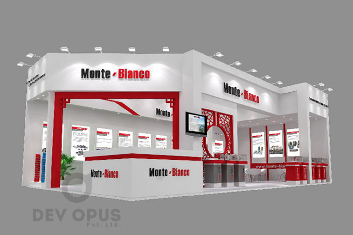 D Exhibition Stall Design Full : Exhibition stall design and fabrication in india by dev